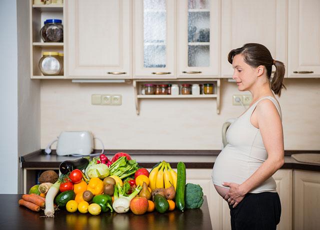 Продукты во время беременности