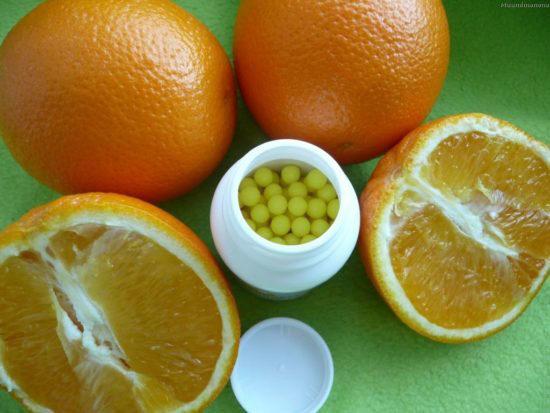 Цитрусовые и аскорбинка