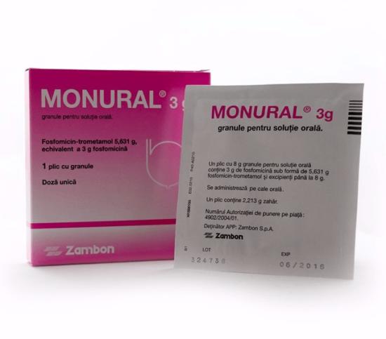 """""""Монурал"""" в саше и картонной упаковке"""