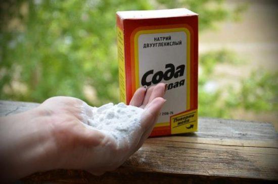 Сода против молочницы