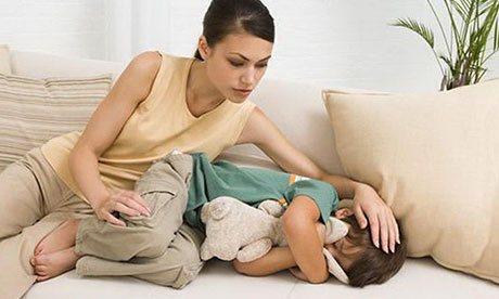 Нельзя ругать ребенка за мокрую постель