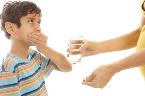 Детям лучше назначать суспензию